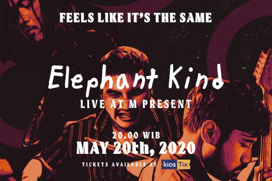 Elephant Kind Gelar Konser Virtual Di KiosLive